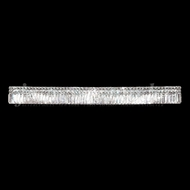 James Moder 92524S22 Prestige Crystal Silver Bath Light Fixture