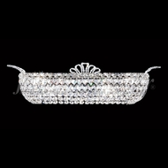 James Moder 94118S22 Princess Crystal Silver Bath Lighting Fixture