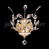 James Moder 94451G22 Florale Crystal Gold Wall Sconce Lighting
