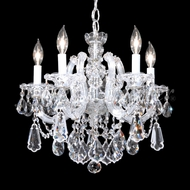 James Moder 94715S22 Maria Theresa Royal Crystal Silver Chandelier Light