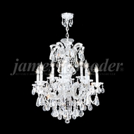 James Moder 94732S22 Maria Theresa Royal Crystal Silver Chandelier Lighting