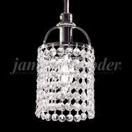 James Moder 94840S22 Tekno Mini Silver Mini Pendant Lamp