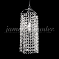 James Moder 94880S22 Tekno Mini Silver Mini Pendant Lighting Fixture