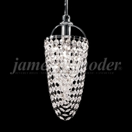 James Moder 94920S22 Tekno Mini Silver Mini Hanging Pendant Lighting