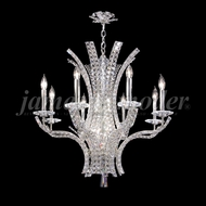 James Moder 95638S22 Eclipse Fashion Crystal Silver Chandelier Lighting
