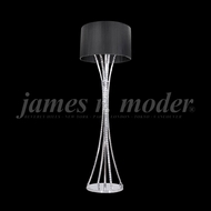 James Moder 95642S22-71 Eclipse Fashion Crystal Silver Floor Lamp