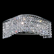 James Moder 95723S22 Fashionable Broadway Silver Bathroom Vanity Light