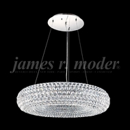 James Moder 96086S22 Silver Drop Lighting Fixture
