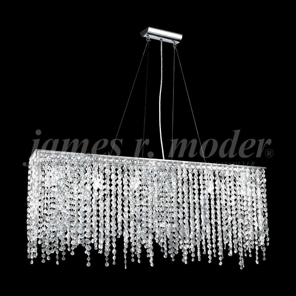 James Moder S Continental Fashion Silver Kitchen Island Light - Silver kitchen light fixtures