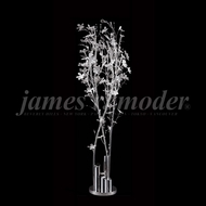 James Moder 96186S22 Continental Fashion Silver LED Floor Light