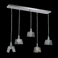 James Moder 96555S22 Butterfly Collection Silver Halogen Multi Drop Lighting