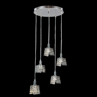 James Moder 96565S22 Butterfly Silver Multi Hanging Lamp