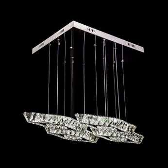 James Moder 96596S22LED Galaxy Collection Silver LED Multi Pendant Lamp