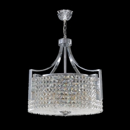 James Moder 96634S22 Contemporary Collection Silver Drum Hanging Light