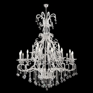 James Moder 96660S22 Pearl Silver Ceiling Chandelier