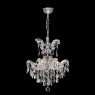 James Moder 96678S22 Maria Theresa Grand Collection Silver Mini Lighting Chandelier