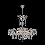 James Moder 96680S22 Maria Theresa Grand Collection Silver Chandelier Light