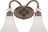 Craftmade 26702-MB Boulevard Mocha Bronze 2-Light Bath Light Fixture