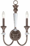 Craftmade 26732-MB Boulevard Mocha Bronze Lighting Sconce