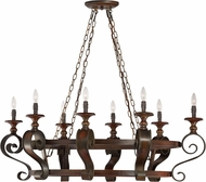 Craftmade 28038-SPZ Seville Spanish Bronze Island Light Fixture