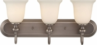 Craftmade 28503-AN Willow Park Antique Nickel 3-Light Vanity Light Fixture