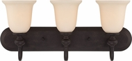 Craftmade 28503-GB Willow Park Gothic Bronze 3-Light Vanity Lighting Fixture