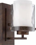 Craftmade 35401-PR Kenswick Peruvian Bronze Sconce Lighting