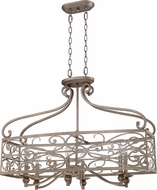 Craftmade 35826-AO Worthington Athenian Obol Kitchen Island Lighting