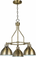 Craftmade 35923-LB Timarron Legacy Brass Mini Lighting Chandelier