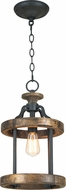 Craftmade 36591-TBWB Ashwood Textured Black/Whiskey Barrel Mini Hanging Pendant Lighting