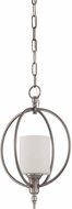 Craftmade 37231-AN Meridian Contemporary Antique Nickel Mini Hanging Light Fixture