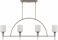 Craftmade 37274-AN Meridian Contemporary Antique Nickel Island Lighting