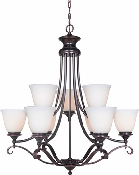 Craftmade 39829-OBG Chelsea Oil Bronze Gilded Chandelier Light