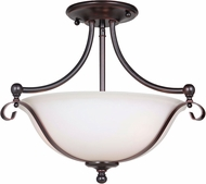Craftmade 39853-OBG Chelsea Oil Bronze Gilded Flush Lighting