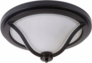 Craftmade 40283-MBK Gabriella Matte Black Ceiling Lighting