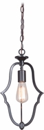 Craftmade 40291-MBK Gabriella Matte Black Mini Drop Ceiling Lighting