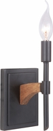 Craftmade 40361-ESPWB Tahoe Espresso / Whiskey Barrel Wall Light Sconce