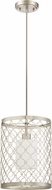 Craftmade 40592-SN Marbella Satin Nickel Mini Ceiling Pendant Light