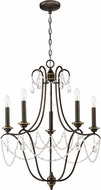 Craftmade 41125-LB Lilith Legacy Brass Chandelier Light