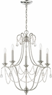 Craftmade 41125-PLN Lilith Polished Nickel Chandelier Lighting