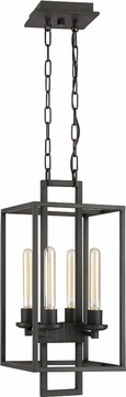 Craftmade 41534-ABZ Cubic Contemporary Aged Bronze Brushed Foyer Lighting Fixture