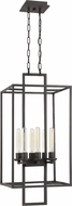 Craftmade 41536-ABZ Cubic Modern Aged Bronze Brushed Entryway Light Fixture