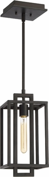 Craftmade 41591-ABZ Cubic Modern Aged Bronze Brushed Mini Hanging Pendant Lighting