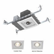 Jesco BL-MH4011COB-AT Contemporary LED Recessed Lighting 1 Light LED Modulinear New Construction