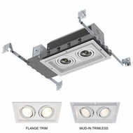 Jesco BL-MH4012COB-AT Contemporary LED Recessed Lighting 2 Light LED Modulinear New Construction
