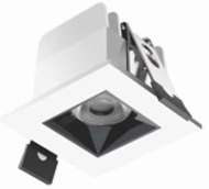 Jesco BL-NR1L-5W Contemporary LED Recessed Lighting Micro Linear 1 Aperture Square Recessed Downlight