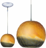Jesco KIT-QAP409-BZSMCH Envisage VI Contemporary Bronze / Chrome Xenon Mini Lighting Pendant