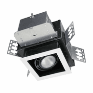 Jesco ML11120-M-3090 ML1 Contemporary LED Dimmable COB LED Double Gimbal Modulinear Recessed Lighting Fixture