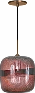 Jesco PD407-PUBZ Envisage VI Modern Purple / Bronze Mini Lighting Pendant