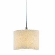 Jesco QAP222 Coral Modern 4.5  Wide Halogen Mini Pendant Lighting Fixture